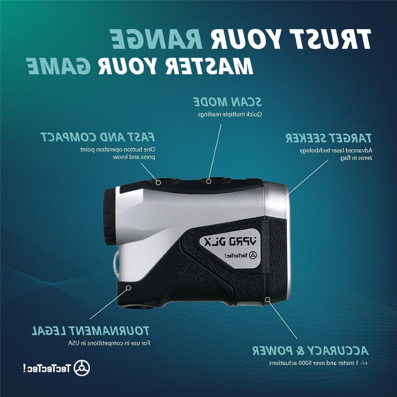 TecTecTec VPRODLX Red Golf Laser Waterproof Design -