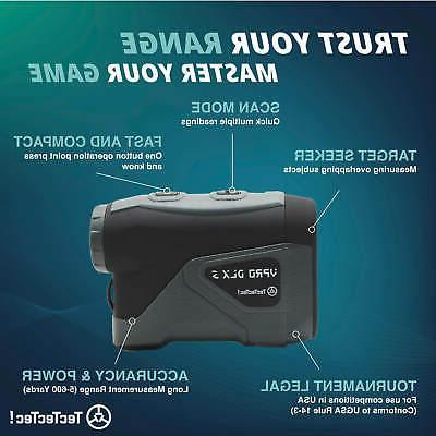 TecTecTec VPRODLXS - Waterproof Laser Range Finder