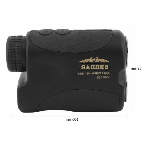 Waterproof Golf Laser Finder Angle Scan w/Case