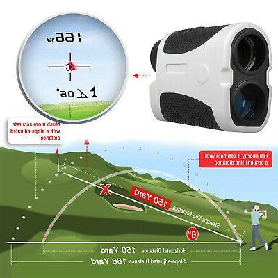 440yards golf laser range finder w flag