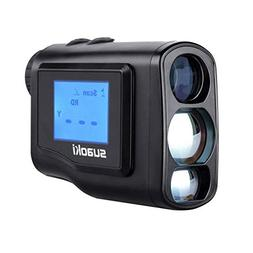 Suaoki 660 Yards Digital Laser Rangefinder Scope with LCD Sc