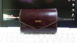 Leather case pouch for Bushnell Golf rangefinder - Handicraf