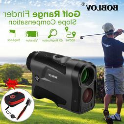 BOBLOV LF600AG 600M Golf Laser Range Finder with Slope + Gro