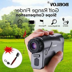LF600AG 6X 600Yards Golf Laser Range Finder with Slope Compe