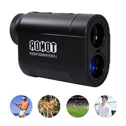 TONOR Golf Laser Rangefinder/Range Finder with Pinsensor/Bin