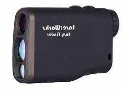 LaserWorks LW1000SPI Laser Rangefinder for Hunting Golf,Fog