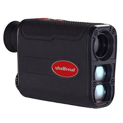 LaserWorks LW800PRO Laser Rangefinder for Hunting and Golf J