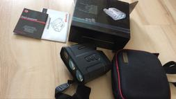 new 1500m clear range finder outdoor hunting