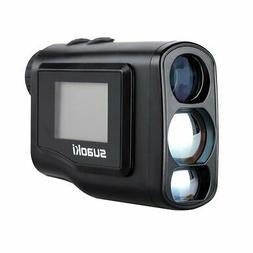 New Suaoki 600m laser rangefinder portable Golf optical 6x L
