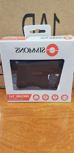 New - Simmons 6x20mm Venture Tilt Laser Rangefinder   SVL620