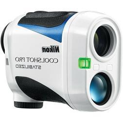 New Nikon Coolshot Pro Stabilized Golf Laser Rangefinder W/