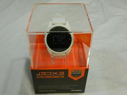 New Bushnell Excel Golf GPS Rangefinder Watch White Range Fi