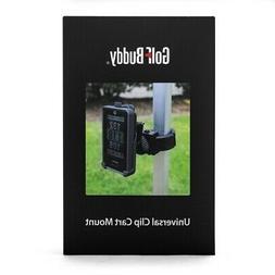 NEW Golf Buddy Universal GPS Clip Cart Mount Black Fits Watc