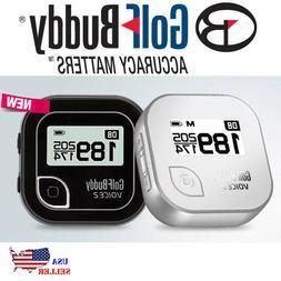 NEW Golf Buddy Voice 2 GPS Talking Audio Distance Rangefinde
