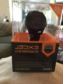 new golf excel gps range finder watch
