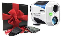 Nikon Coolshot Pro Stabilized Golf Laser Rangefinder Gift Bo