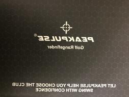 PEAKPULSE Golf Laser Rangefinder 6Pro Slope Version 6x Magni