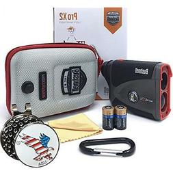 Pro X2 Golf Laser Rangefinder GIFT BUNDLE Includes