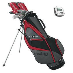 Wilson Profile XD Men's Left Handed Complete Golf Club Set w