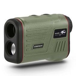 Wosports Rangefinder Laser Range Finder for Golf Hunting 600