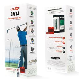 Real Time Bluetooth Game Tracking Live Golf GPS Range Finder