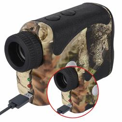 WOSPORTS Rechargeable Hunting Rangefinder, 800 Yards USB Cha
