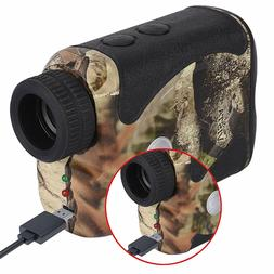 WOSPORTS Rechargeable Hunting Rangefinder 800 Yards USB Char