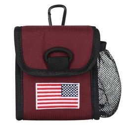 Red / Black Golf Rangefinder Magnetic Case Cover Protector f