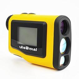 LaserWorks Slope Golf Rangefinder 600 Yards Digital Laser Ra