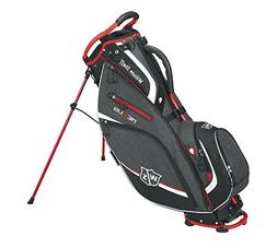 Wilson Staff Nexus III Carry Bag, Black/Red