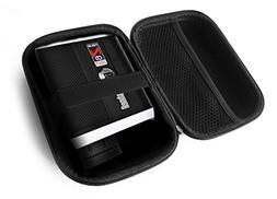 FitSand (TM Carry Travel Zipper EVA Hard Case for Bushnell T