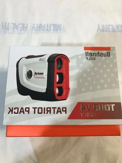 Bushnell Tour V4 Shift Slope Edition Patriot Pack Laser Rang