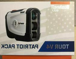 Bushnell Tour V4 Standard Patriot Pack Golf Laser Rangefinde