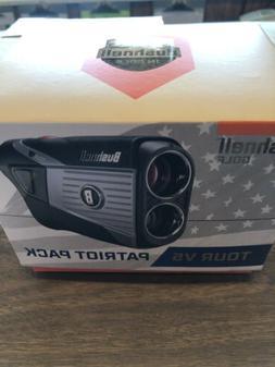 Bushnell Tour V5  Golf Laser Rangefinder Patriot Pack | BRAN