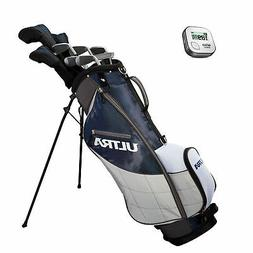Wilson Ultra Mens 13 Piece Left Handed Golf Club Package Bag