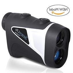 SereneLife Upgraded Advanced Golf Laser Rangefinder with Pin