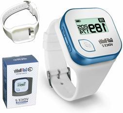 GolfBuddy Voice 2 Golf GPS/Rangefinder with Golf Buddy Wrist