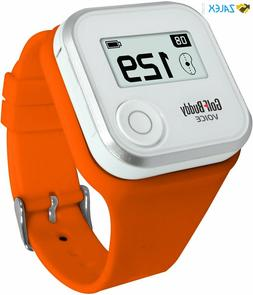 Golf Buddy Voice Wristband Orange